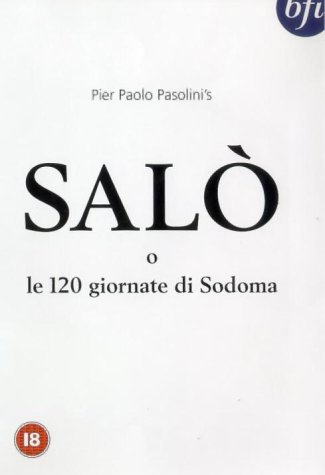 Arthouse advertising and the assured text: the cover art for the original BFI release of Salò