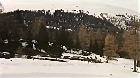 Snowy landscape and untouched nature in Mark of the Devil Part II